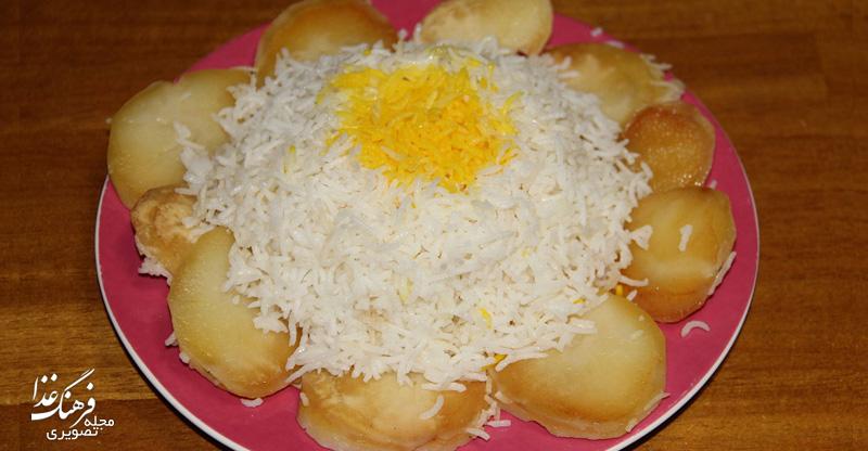 روشهای پخت برنج