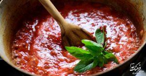 طرز تهیه سس گوجهفرنگی کلاسیک