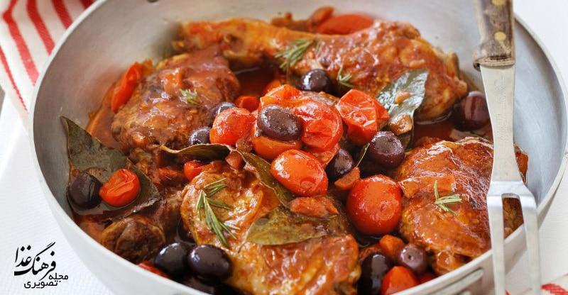 طرز تهیه غذای ایتالیایی کاچیاتوره