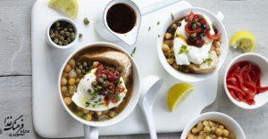لَبلابی – سوپ نخود تونسی