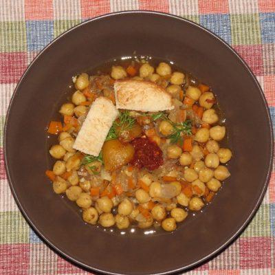 سوپ نخود تونسی