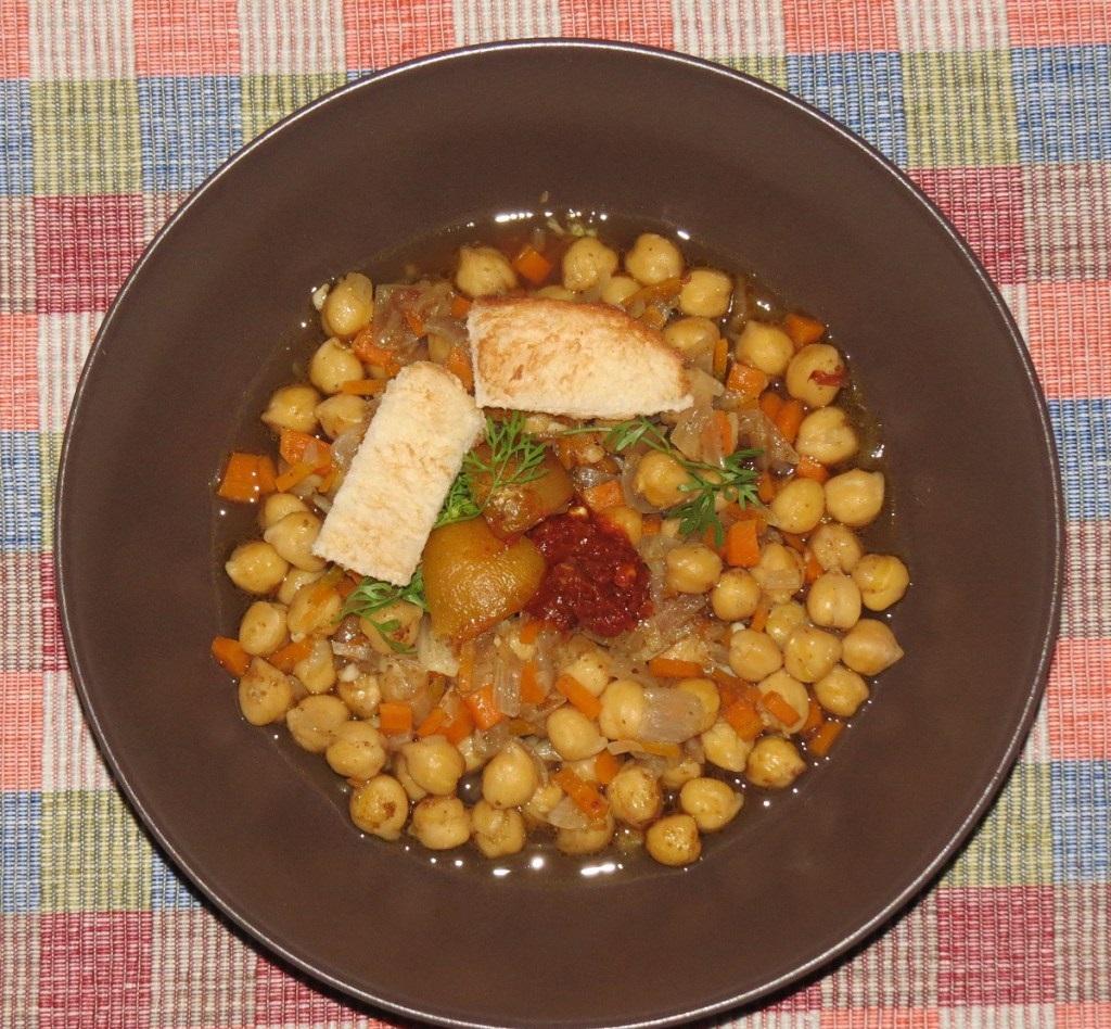 طرز تهیه سوپ نخود تونسی